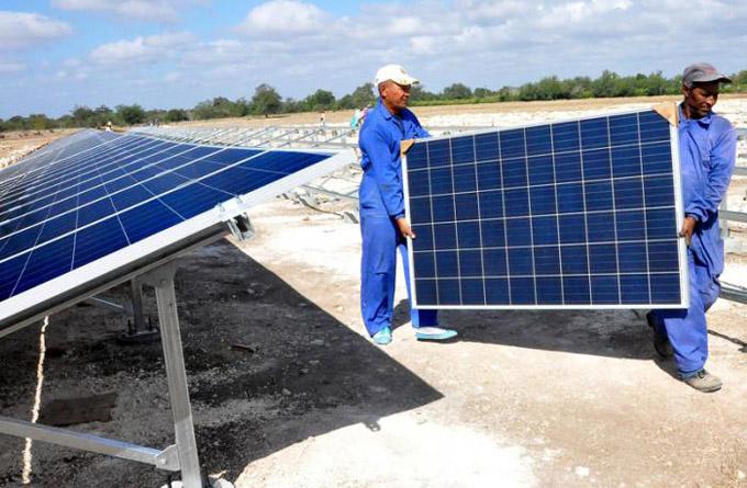 Impulsa Cuba generación de energía mediante fuentes fotovoltaicas