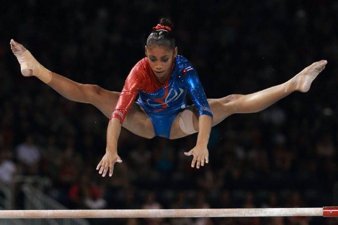 Concluyó décima gimnasta Videaux entre máximas acumuladoras en Lima 2019