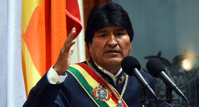Evo Morales declara prioridad nacional lucha contra feminicidio