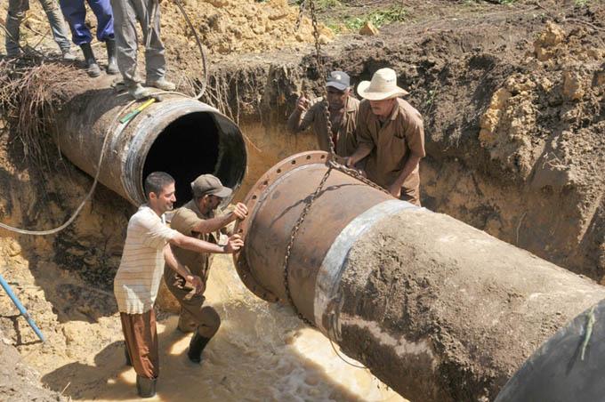 Avanza en Cuba programa de rehabilitación y desarrollo hidráulico