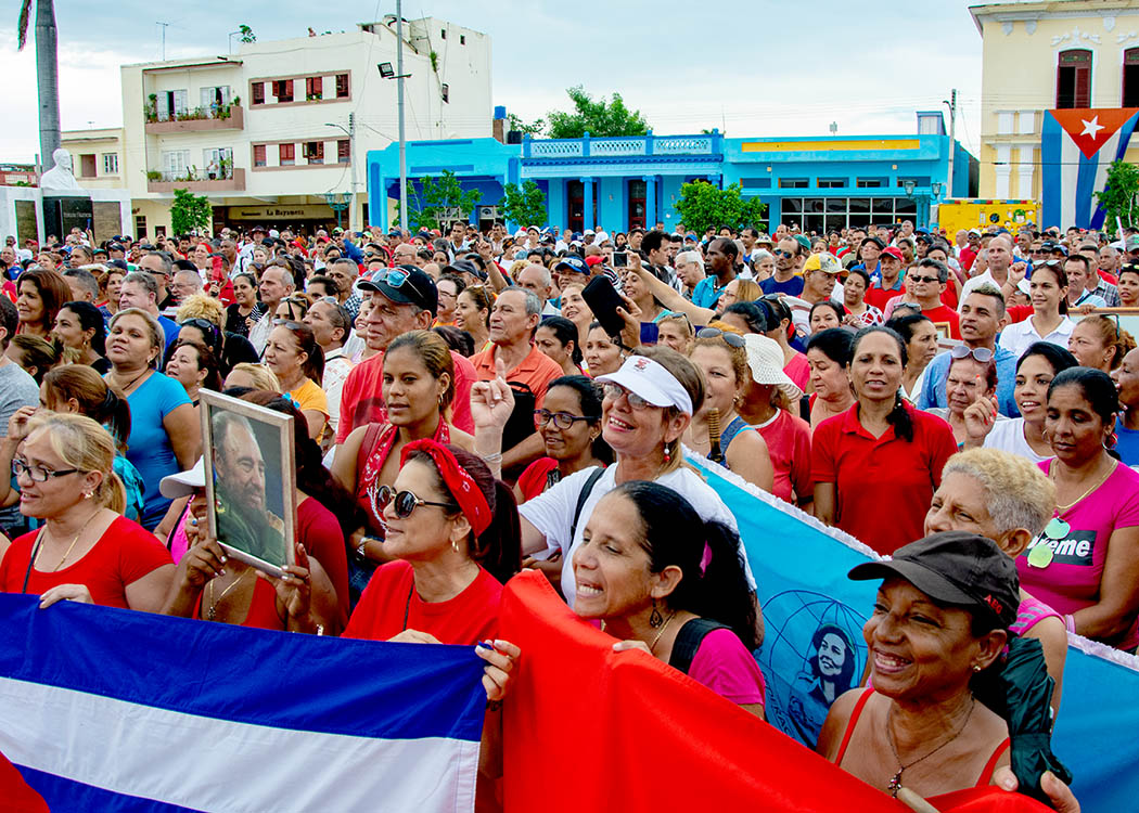 En la Plaza de la Revolución se reafirma el patriotismo (+ fotos)