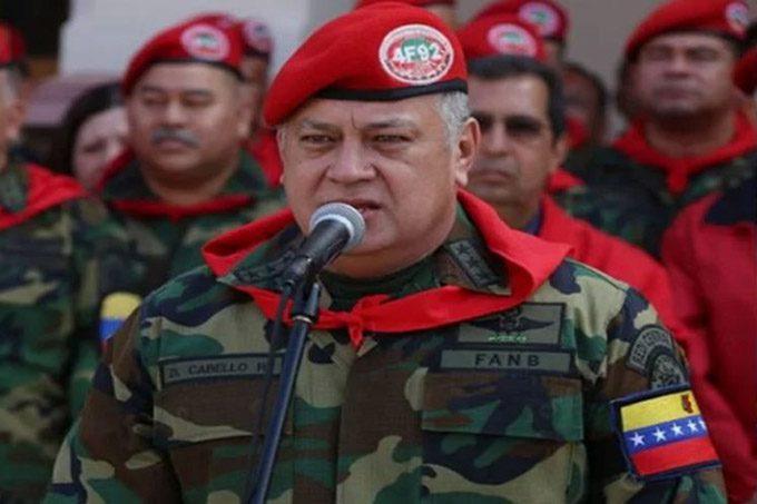 Acciones contra Venezuela radicalizan proceso, asegura Cabello