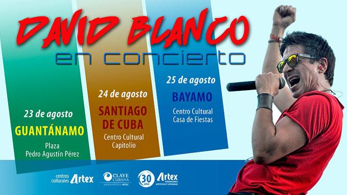 Actuará David Blanco en centro cultural de Artex