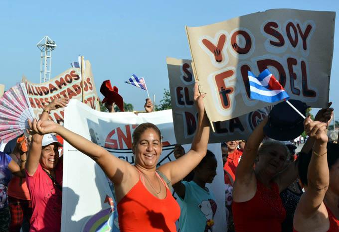 Mujeres cubanas celebran aniversario 59 de su organización