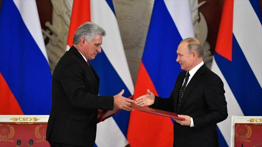 Agradece Cuba apoyo permanente de Rusia frente a bloqueo de EE.UU.