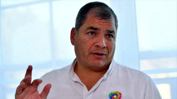 Critican al gobierno de Ecuador por persecución contra Rafael Correa