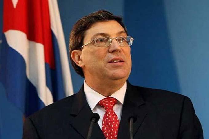 Canciller cubano: Conducta de EE.UU. amenaza estabilidad internacional