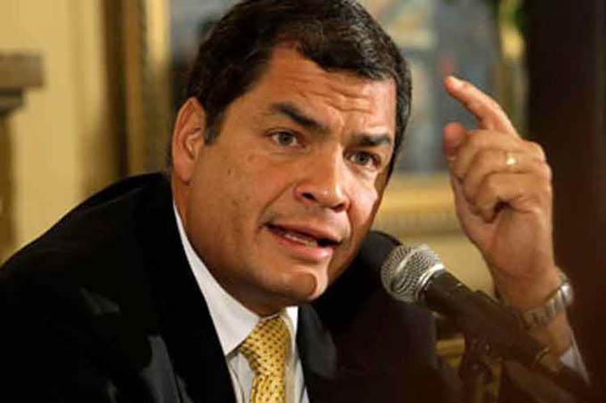 Rafael Correa alerta sobre posible destitución de alcaldes en Ecuador