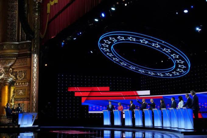 Cierra plazo para clasificar a tercer debate demócrata en EE.UU.