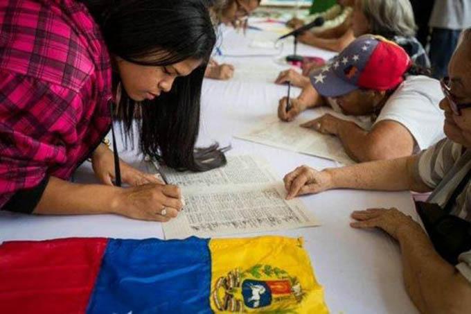 Campaña No Más Trump alcanza siete millones de firmas en Venezuela