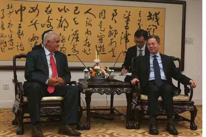 Visita de funcionario cubano a China consolida vínculos bilaterales (+Fotos)