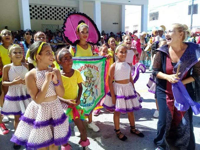 Culminó el carnaval infantil en Manzanillo (+ fotos)