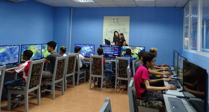 Un palacio para el reinado de la informática