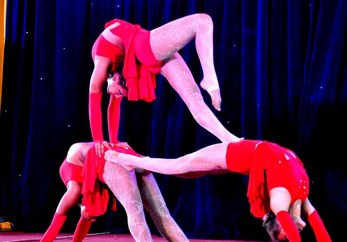 Llegó el circo a Bayamo (+fotos)