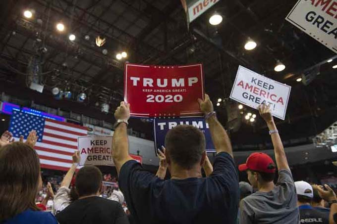 Trump puede ser reelecto, pero tiene motivos de preocupación