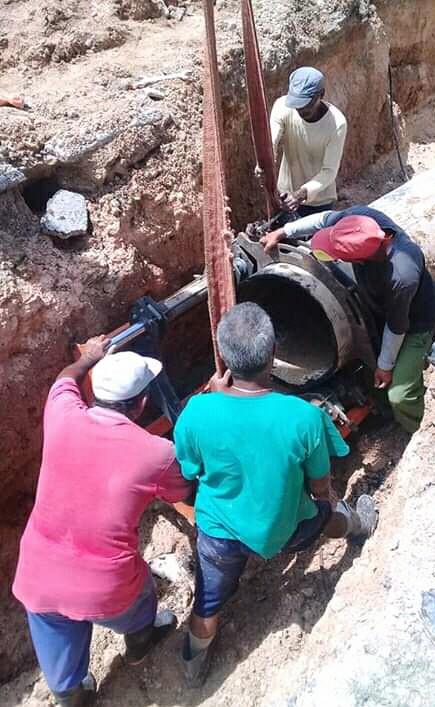 Solucionan averías en acueducto de Manzanillo