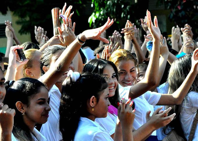 Celebran en Bayamo acto provincial de ingreso a la FEEM (+ fotos)