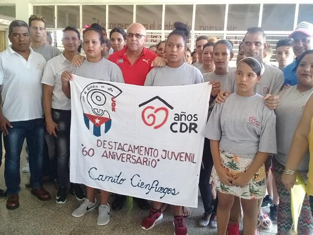 Destacan papel de los jóvenes granmenses en Comités de Defensa de la Revolución