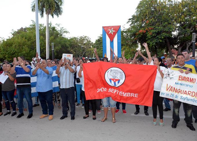 Entusiasmo en Granma por el 28 de septiembre, día de los CDR (+ fotos y video)