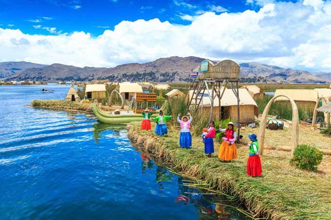 Cuba en el Titicaca, el lago de las nubes