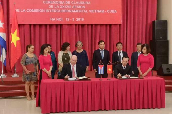 Comisión Intergubernamental Vietnam-Cuba vigoriza nexos bilaterales