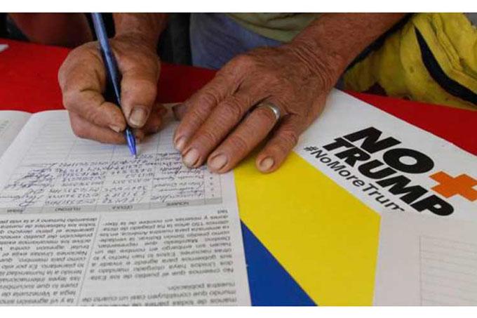 Venezolanos continúan jornadas de rechazo al bloqueo