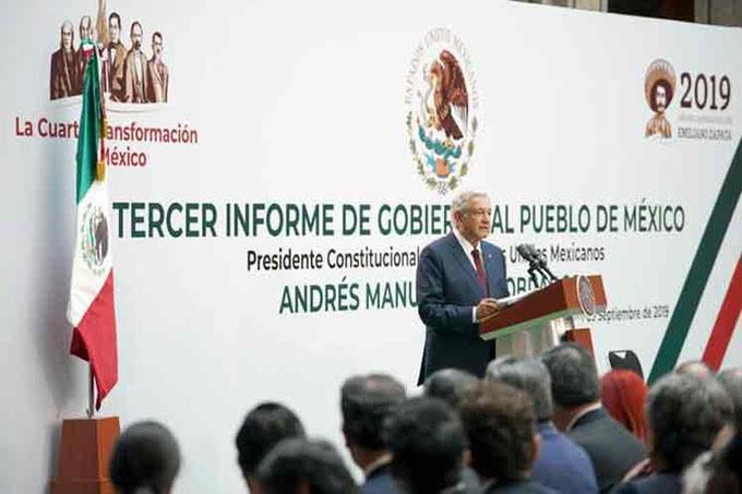 Voces en México a favor y en contra del informe de López Obrador