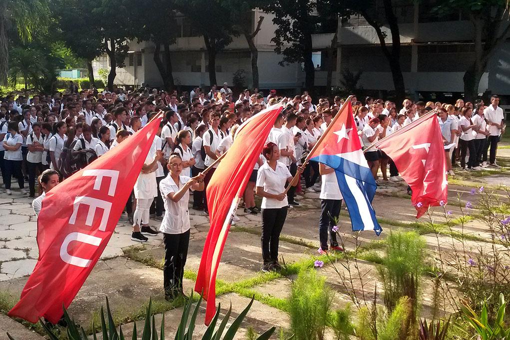 Crece la Federación Estudiantil Universitaria en Granma