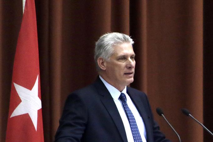 Eligen a Miguel Díaz-Canel como presidente de la República de Cuba