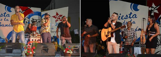 Diversidad de ritmos musicales confluyen desde la jornada inaugural de la Cubanía (+ fotos)