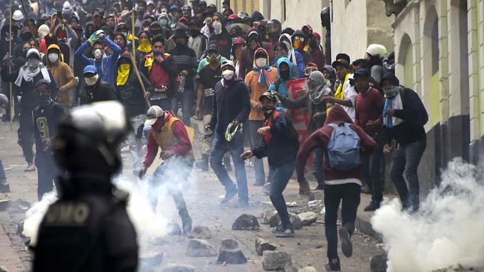 Defensoría del Pueblo de Ecuador confirma muertes por protestas