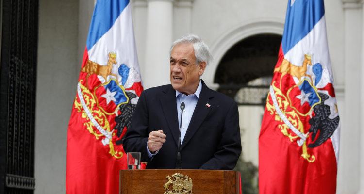 Sebastián Piñera anuncia el nuevo Gabinete