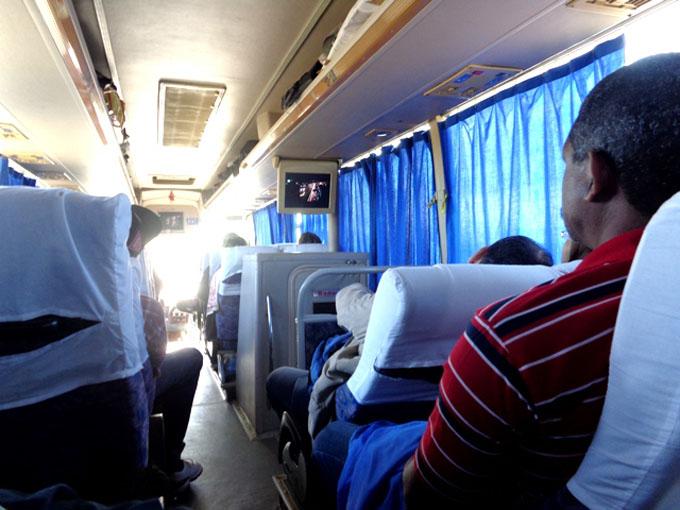 Cambios en la transportación de pasajeros por ómnibus y trenes