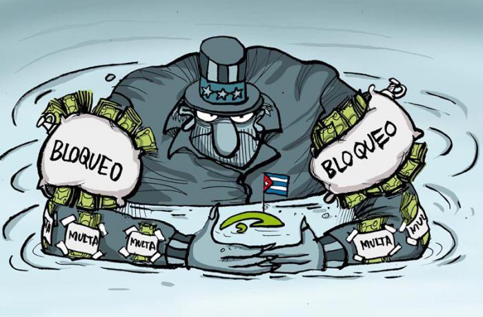 Bloqueo económico, el escenario de la permanente hostilidad de EE.UU.