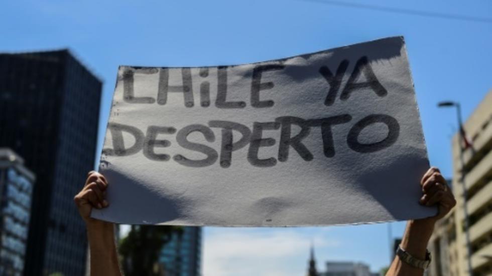 Chile a segundo día de huelga general ante medidas de Gobierno