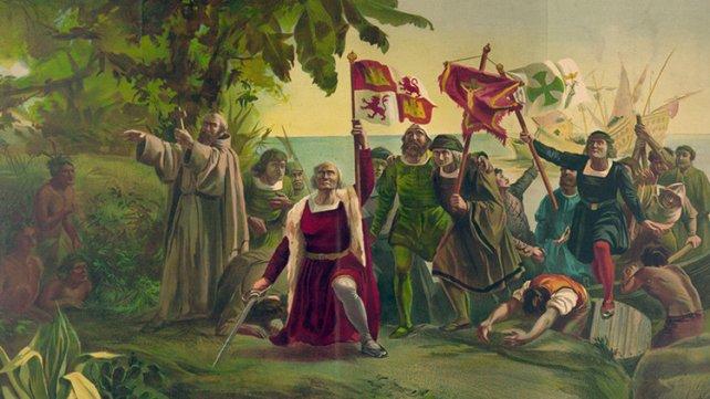 Colón en la tierra más hermosa