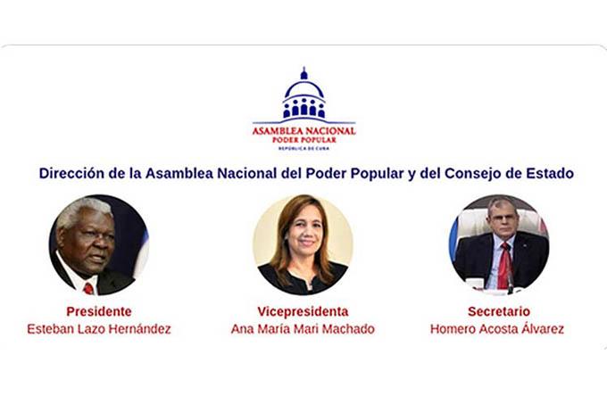 Ratifican presidencia Parlamento y eligen Consejo de Estado de Cuba