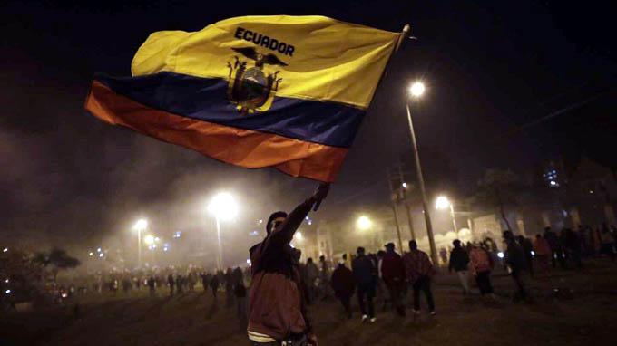Ecuador y la estocada de la resistencia popular al neoliberalismo