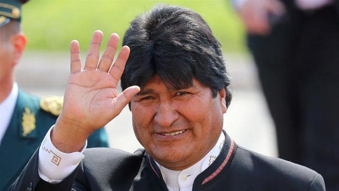 Evo Morales optimista por respaldo para elecciones