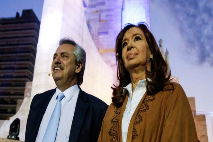 Alberto y Cristina Fernández, nuevo gobierno en camino en Argentina