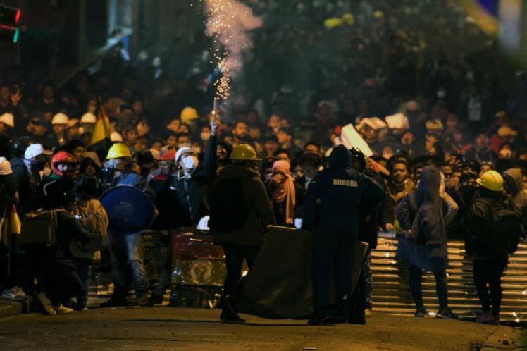 Ministro de Bolivia responsabiliza a líder opositor de violencia