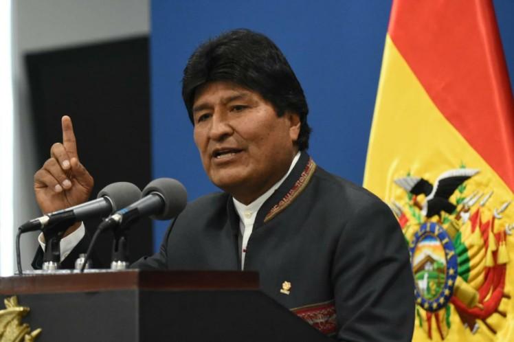 Anular las elecciones es un golpe de estado, consideró Evo Morales