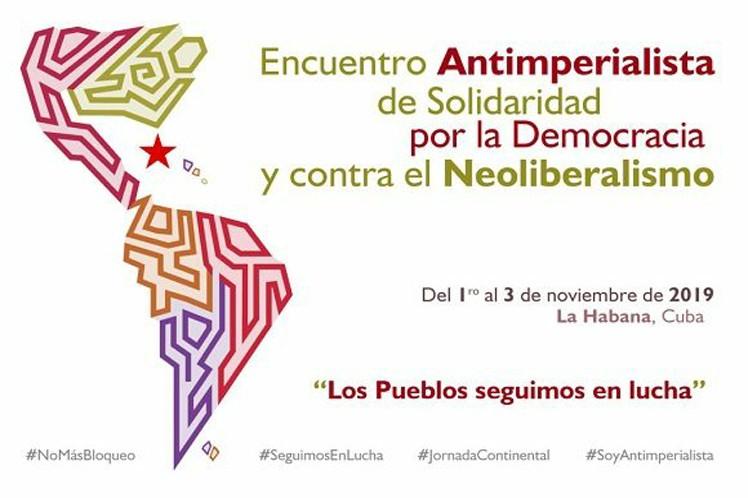 Inicia encuentro antimperialista de solidaridad en Cuba