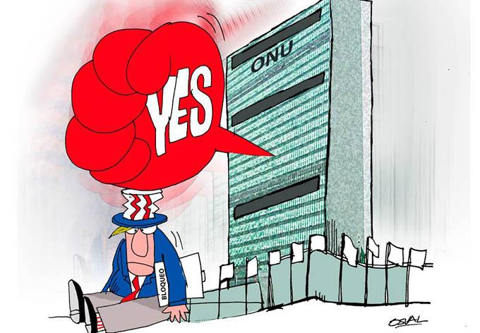 Cuba tiene respaldo mundial en reclamo por fin del bloqueo de EE.UU. (+ video)