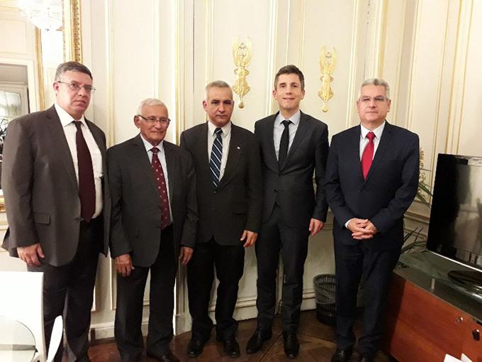 Parlamentarios cubanos cumplen agenda de trabajo en Francia