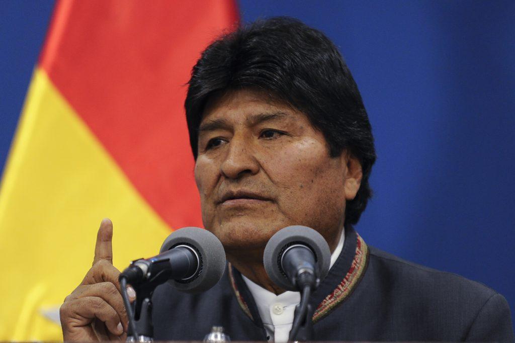 Presidente de Bolivia afirma cumplirá con deber constitucional (+ videos))