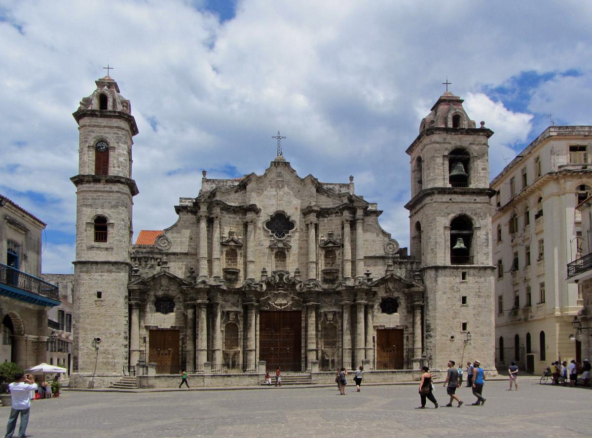La Catedral de La Habana, música convertida en piedra