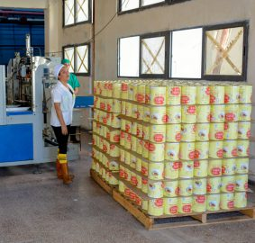 Produce puré de tomate fábrica de conservas Yara (+ fotos y audio)
