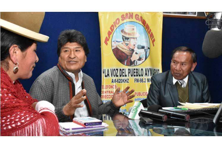 Bolivia atenta y organizada ante estrategia golpista