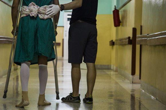 Médicos cubanos y norteamericanos cooperan para la rehabilitación ortopédica (+fotos)
